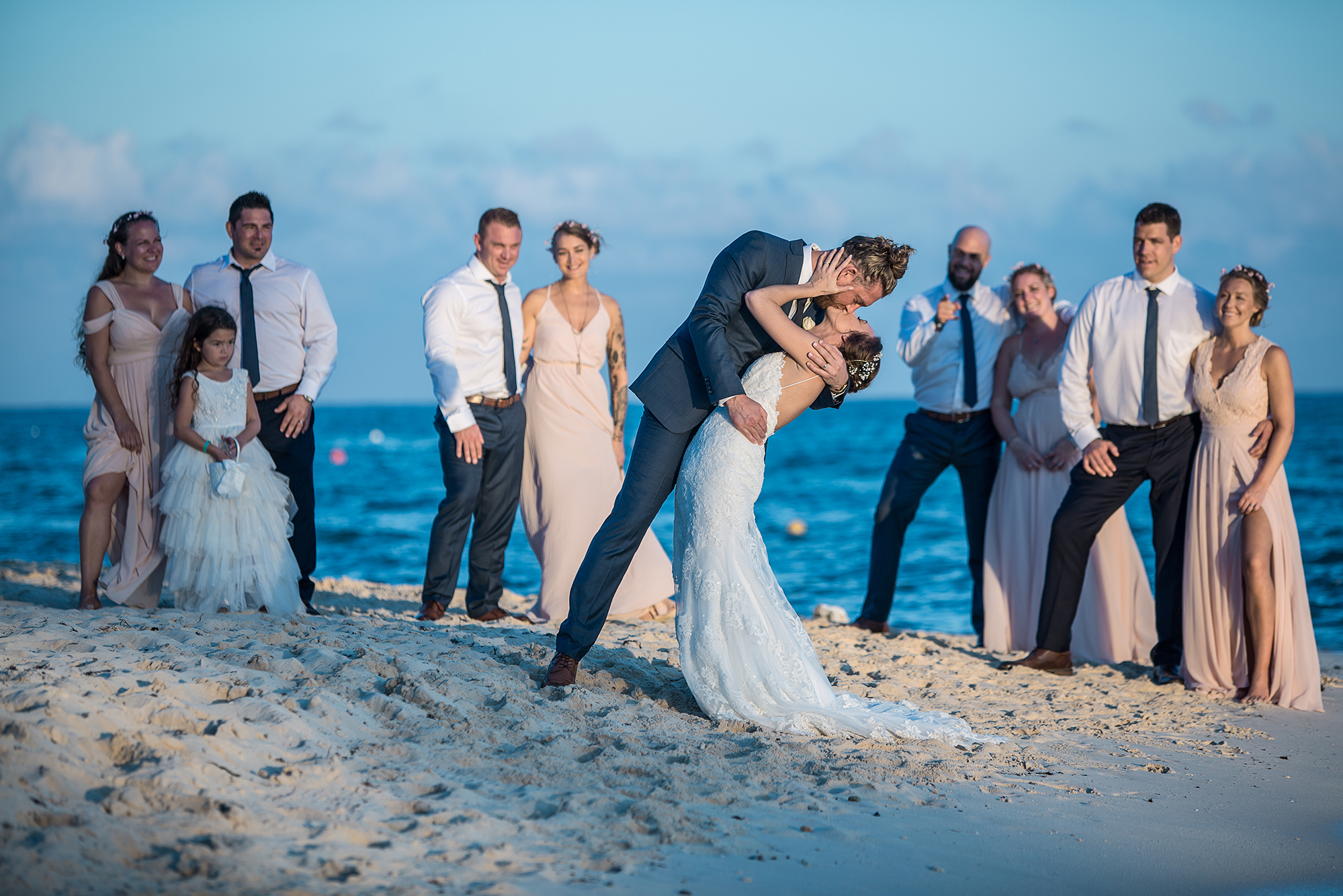 This image shows how we cover destination weddings