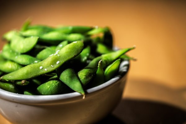 these edamame beans really show case the vibrance of our food photography
