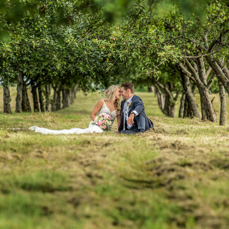 this wedding photograph shows the creativity of our wedding photographer