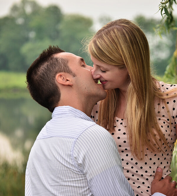 this engagement photo shows viewers how we photograph young couples